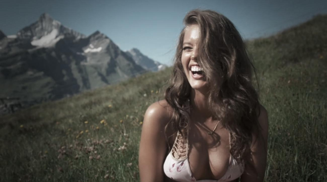 Emily DiDonato in Switzerland, Swimsuit 2014