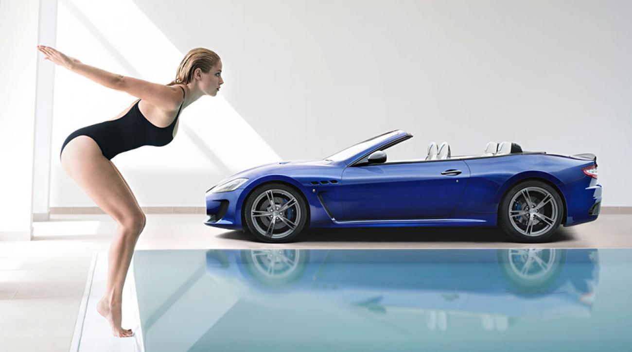 Maserati Ghibli Snow >> Genevieve Morton makes Maserati's luxury cars even more desirable