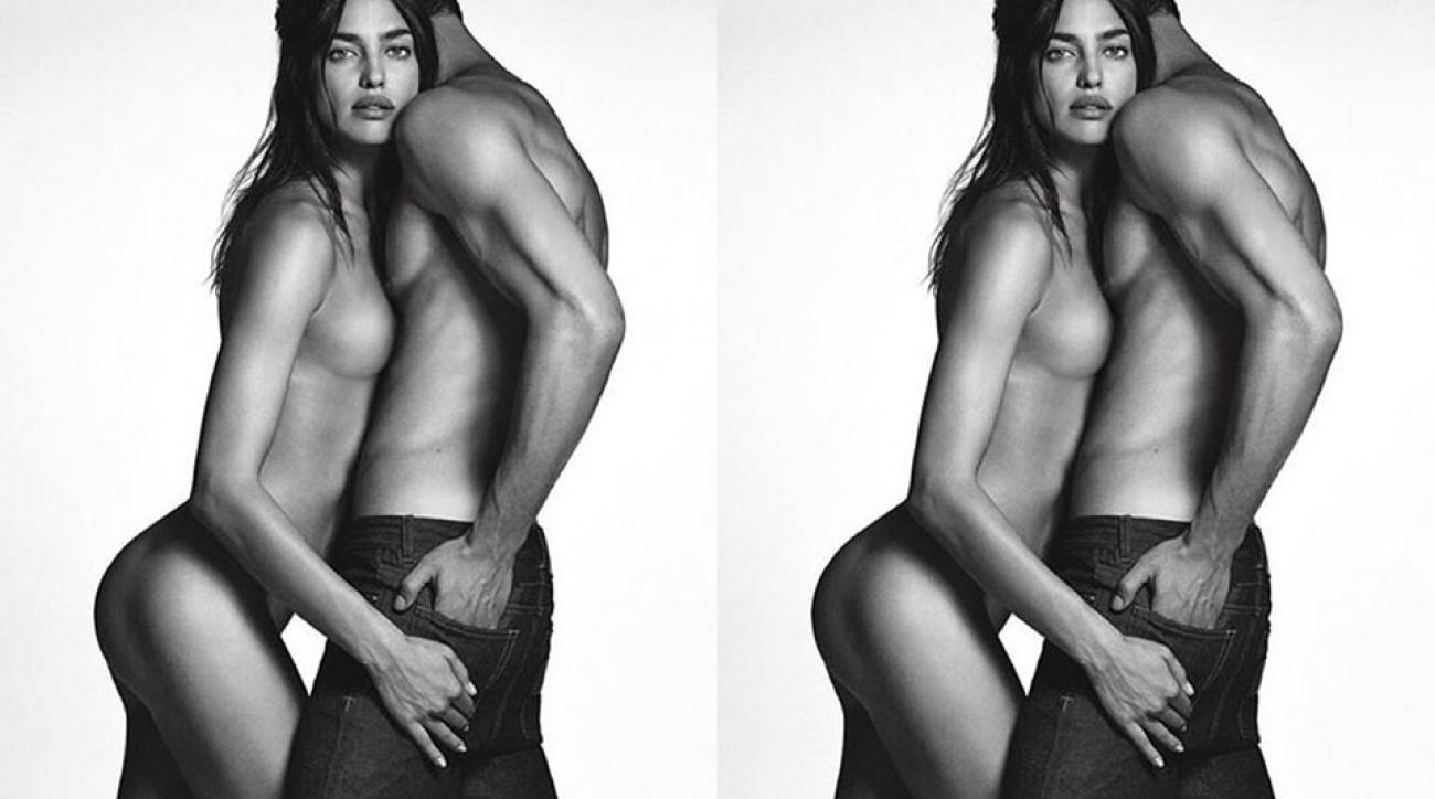Irina Shayk for Givenchy Jeans