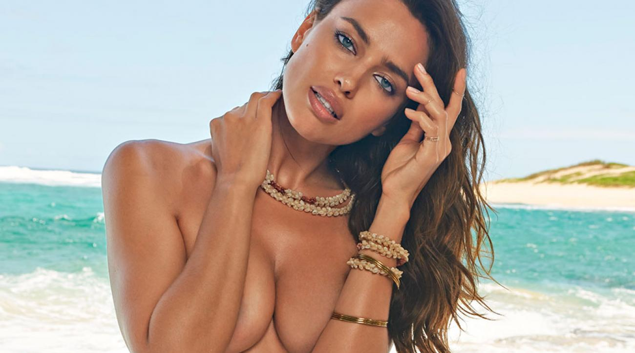 Irina Shayk wraps up NYFW with an unforgettable striptease