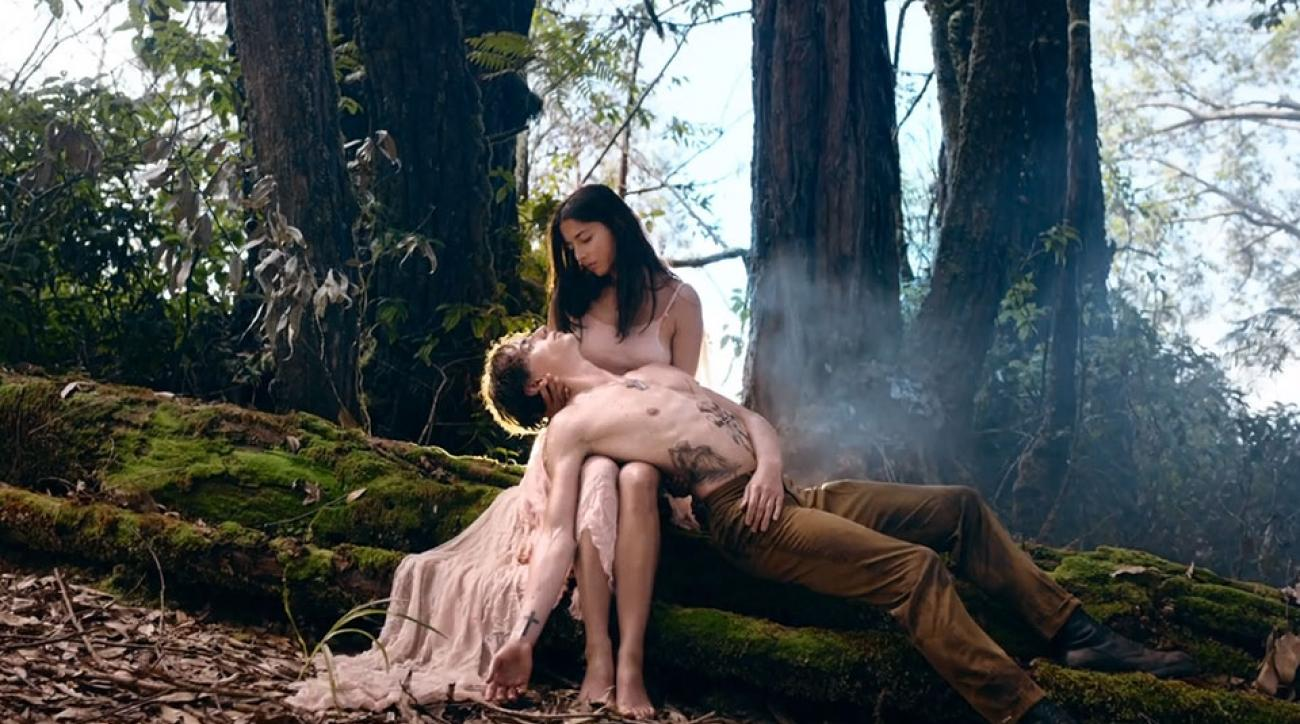 Jessica Gomes and ballet dancer Sergei Polunin collaborate for a music video
