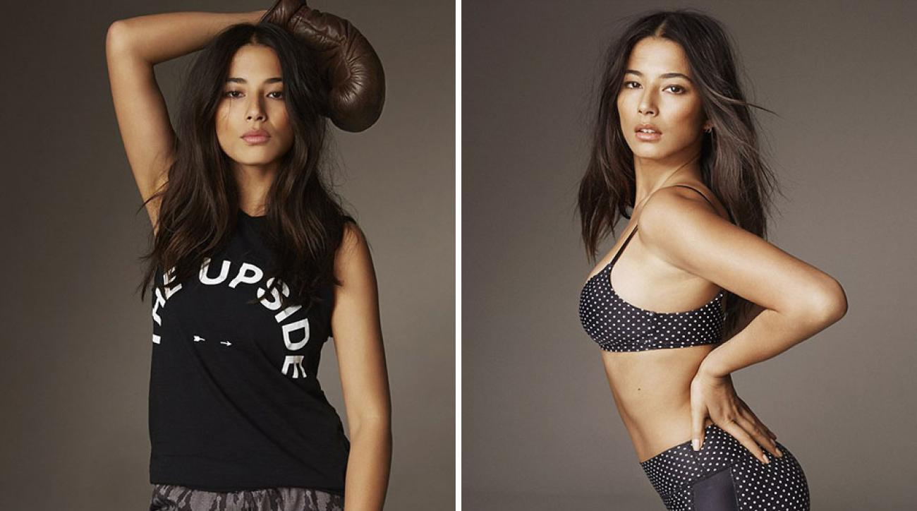 "Jessica Gomes for The Upside's ""Be You"" campaign"