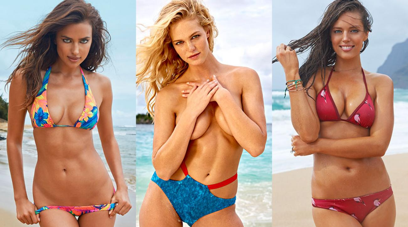 Irina Shayk, Erin Heatherton, Emily DiDonato for SI Swimsuit 2015