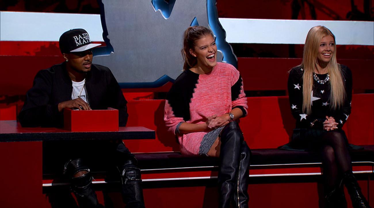Nina Agdal on MTV's Ridiculousness