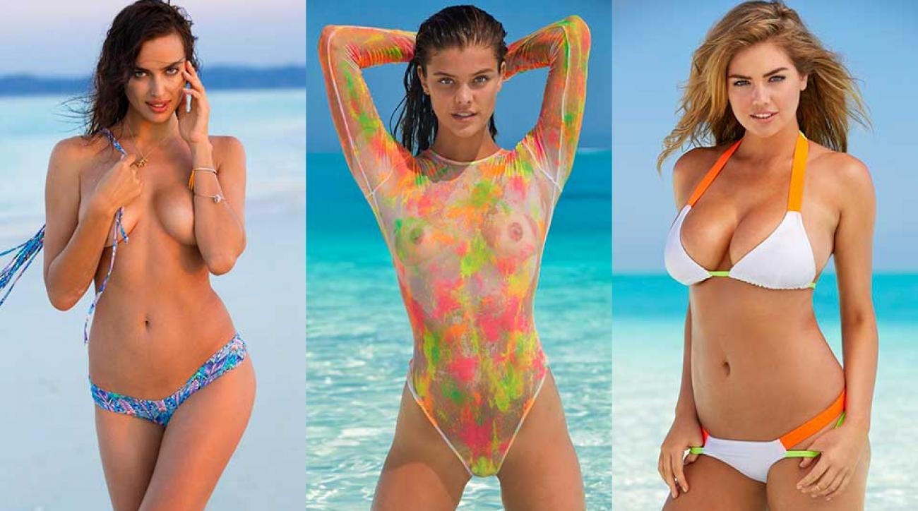 Irina Shayk, Nina Agdal and Kate Upton, SI Swimsuit 2014