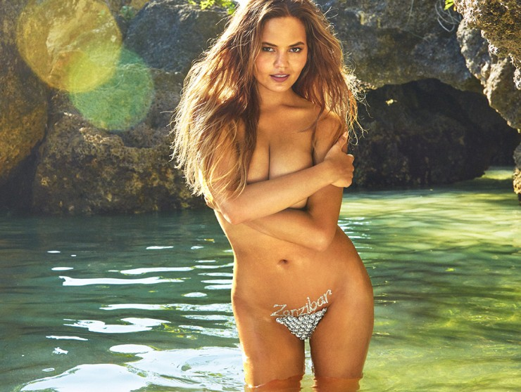 Chrissy Teigen gets bedazzled in the most intimate of places for SI ...