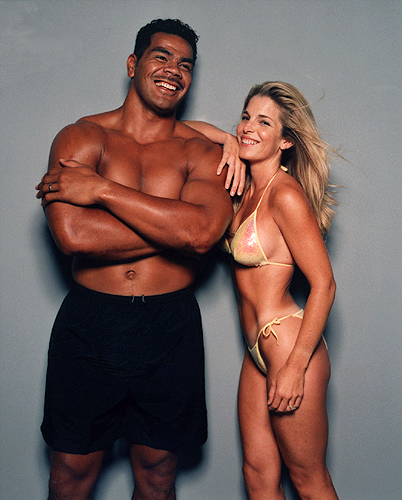 Junior and Gina Seau