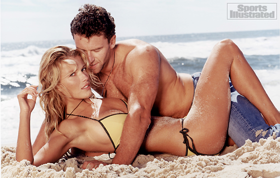 Veronica Varekova and Petr Nedved (New York Rangers)