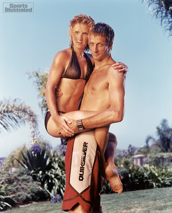 Erin and Tony Hawk (Skateboarder)