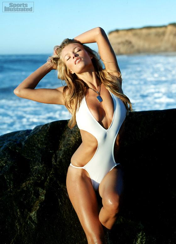 Caroline wozniacki sports illustrated swimsuit bodypaint 2016 - 3 8