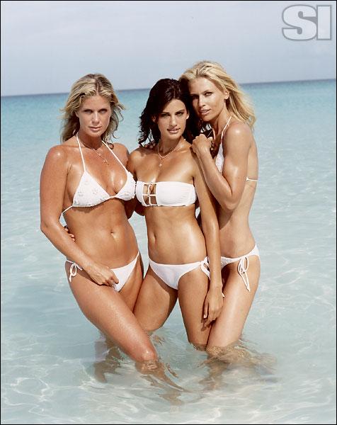 Inca [Rachel]; Sauvage Swimwear by Elizabeth Southwood [Yamila]; Racquel, Racquel [Daniela]