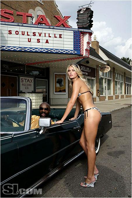 Vix Swimwear; Car provided by Hall Prewitt Picture Cars