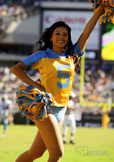 Janipher Choi - NFL Cheerleader - 2008 Sports Illustrated ...