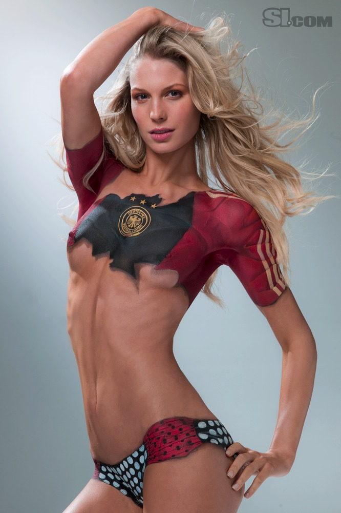 ... - Body Painting - 2010 Sports Illustrated Swimsuit Edition - SI.com