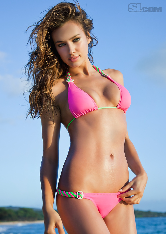 Irina Shayk - Maui Action - 2011 Sports Illustrated ...