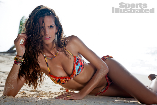 Izabel Goulart Si Swimsuit 2011