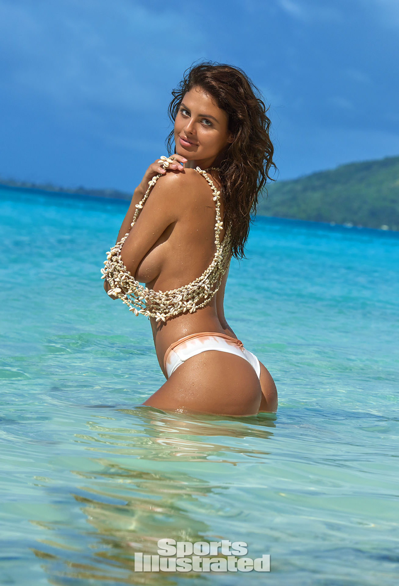 Bo Krsmanovic was photographed by Yu Tsai in The Islands Of Tahiti. Swimsuit by Indie Soul.