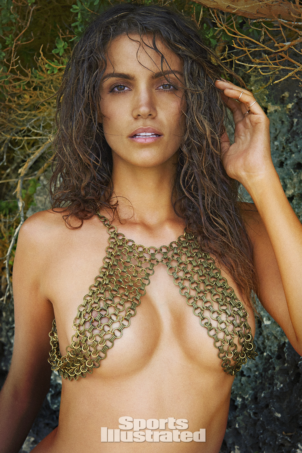Sofia Resing was photographed by Ruven Afanador in Zanzibar. Top by HAATI CHAI.