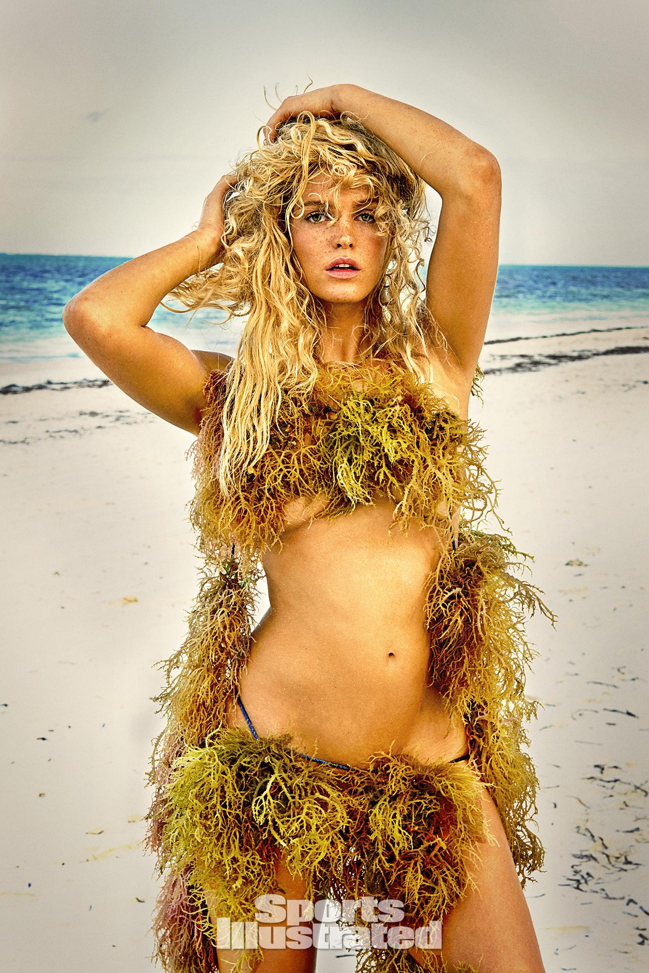 Erin Heatherton was photographed by Ruven Afanador in Zanzibar.
