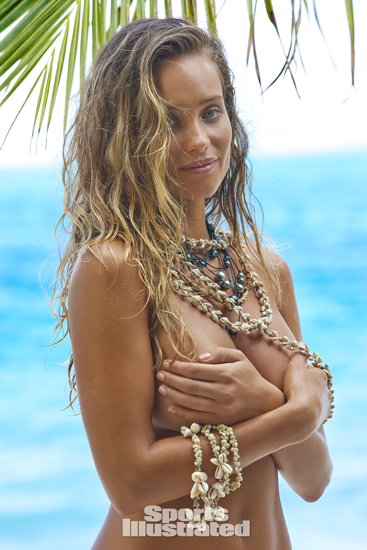 Hannah Davis was photographed by Yu Tsai in The Islands Of Tahiti.