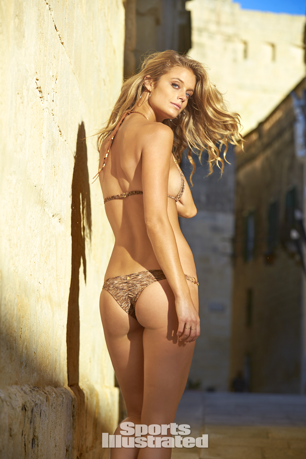Kate Bock was photographed by Ben Watts in Malta.