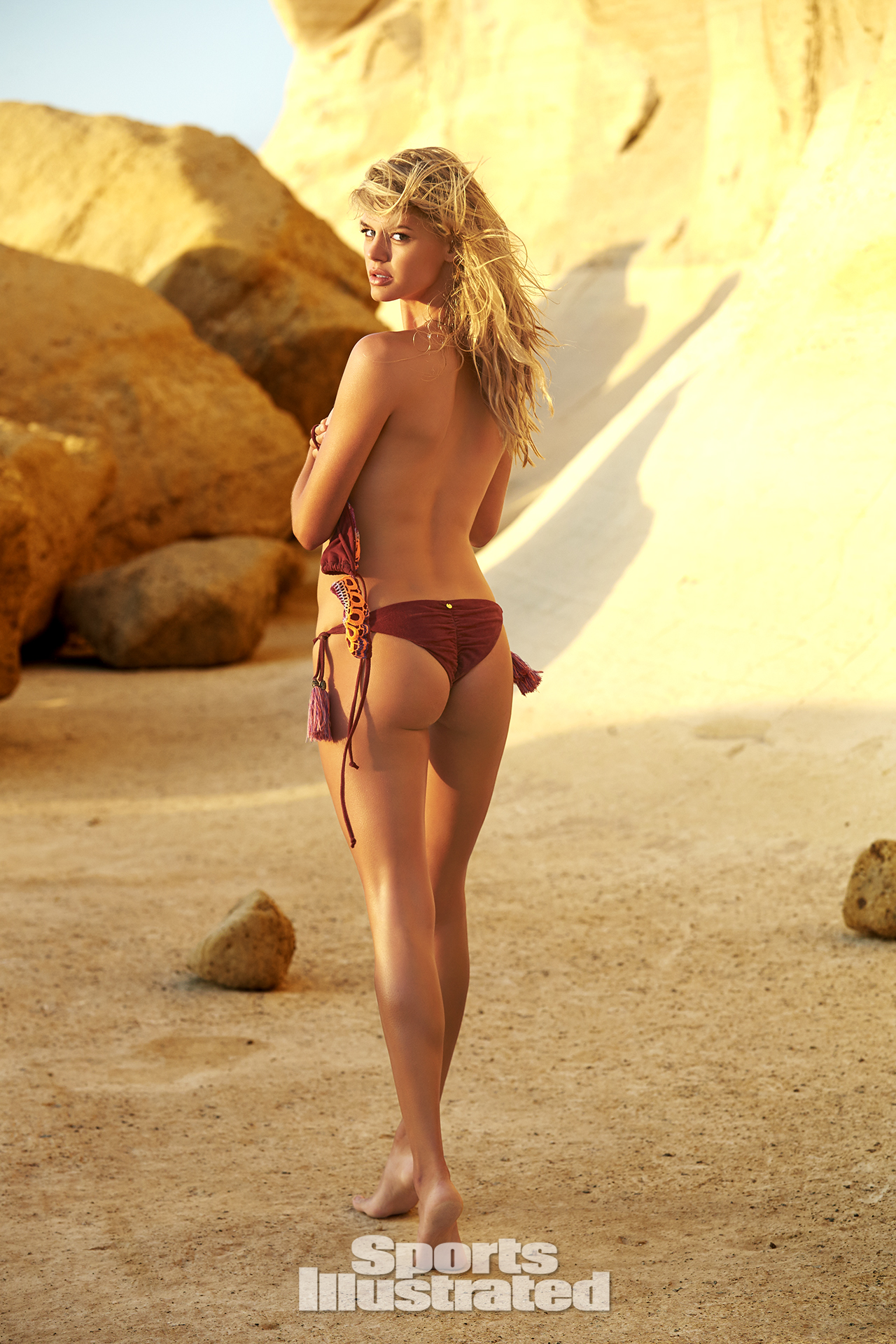 Kelly Rohrbach was photographed by Ben Watts in Malta.