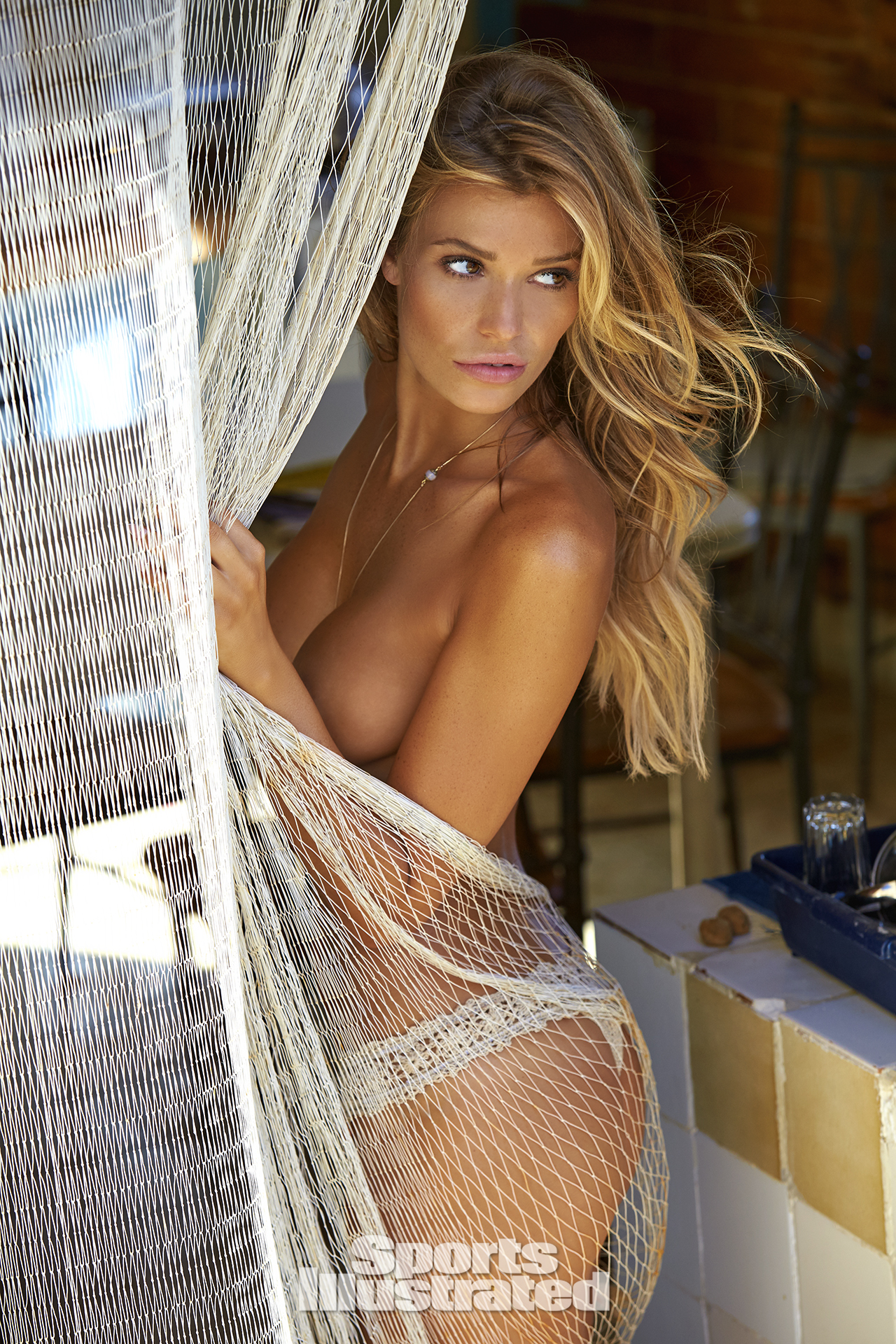 Samantha Hoopes was photographed by Ben Watts in Malta. Swimsuit by Anna Kosturova.