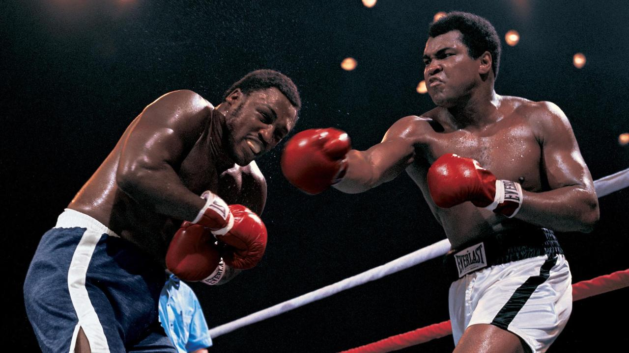 Joe Frazier, Muhammad Ali Thrilla in Manilla