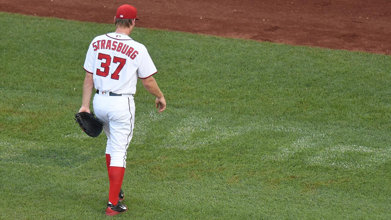Stephen Strasburg placed on 15 day DL with elbow soreness