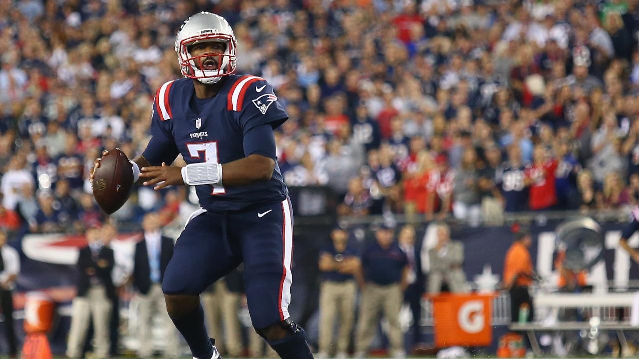 Jacoby Brissett wins Patriots debut