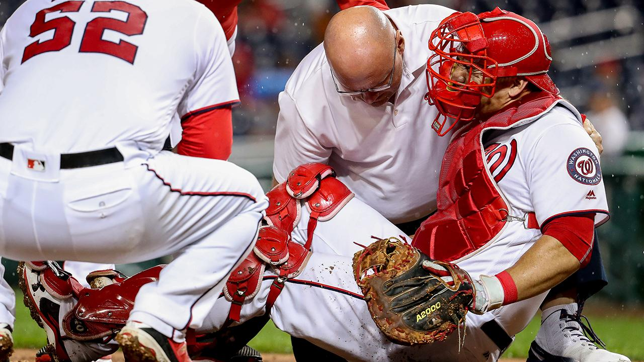 Nationals' Wilson Ramos has torn ACL