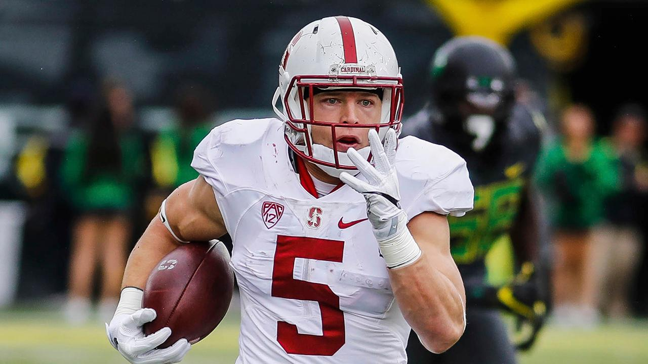 Report: Stanford RB Christian McCaffrey to declare for NFL draft