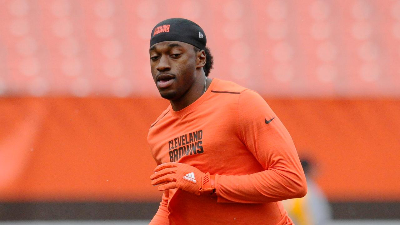 Report: Robert Griffin III to start for Browns Sunday vs. Bengals image