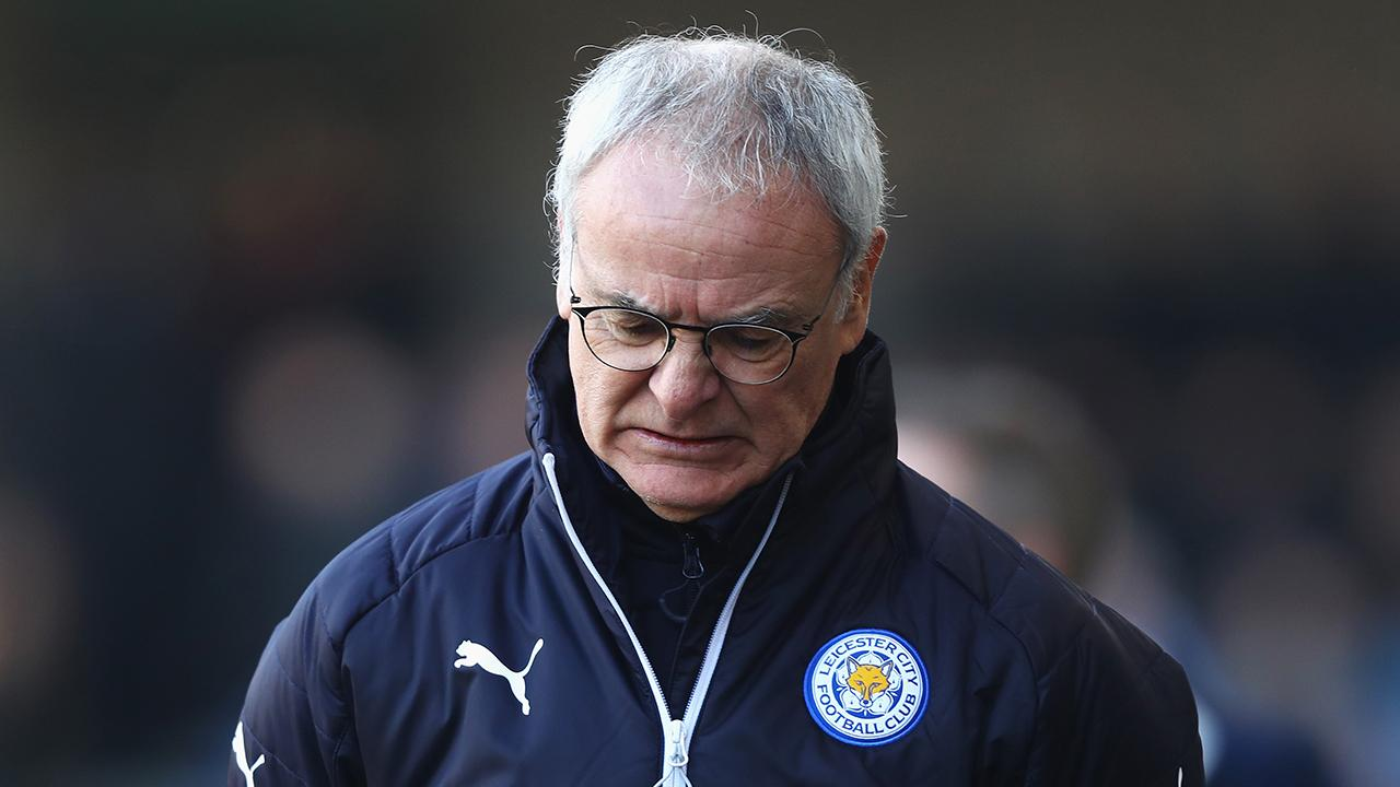 Leicester City fires manager Claudio Ranieri