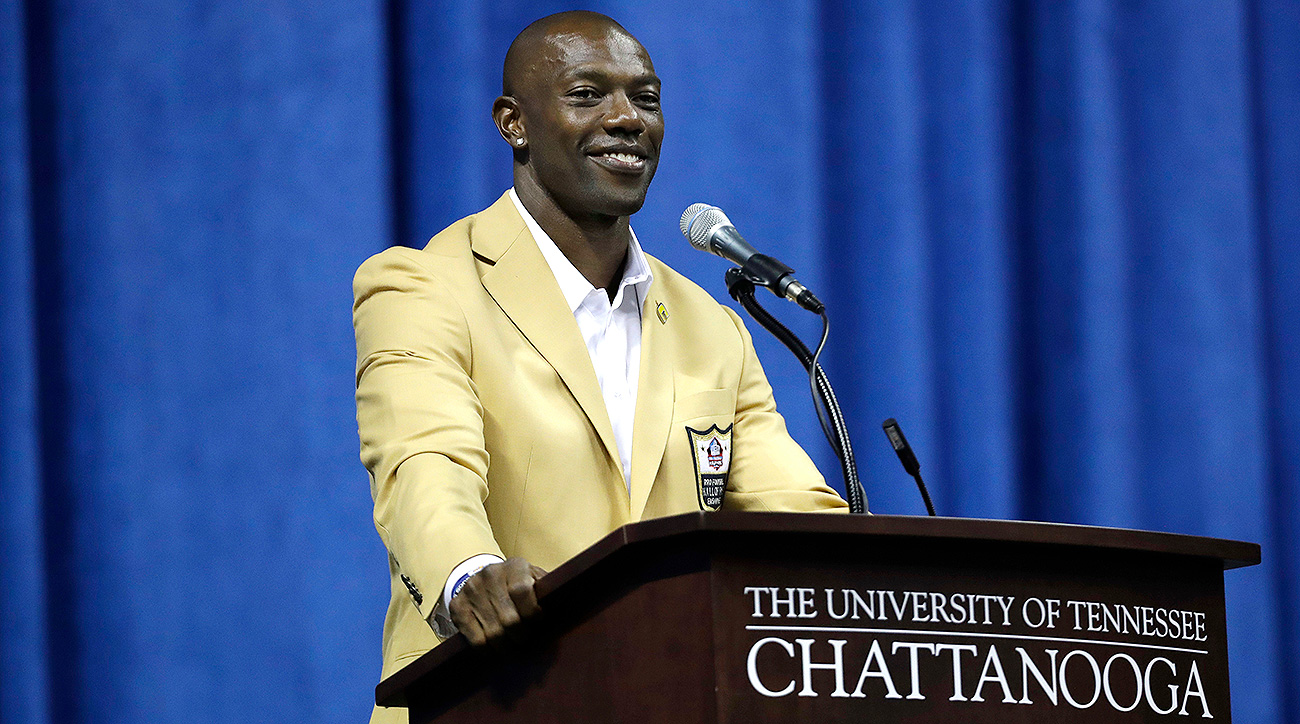 The weekend of the NFL Hall of Fame induction, Terrell Owens was in Chattanooga, Tenn., where he attended college.
