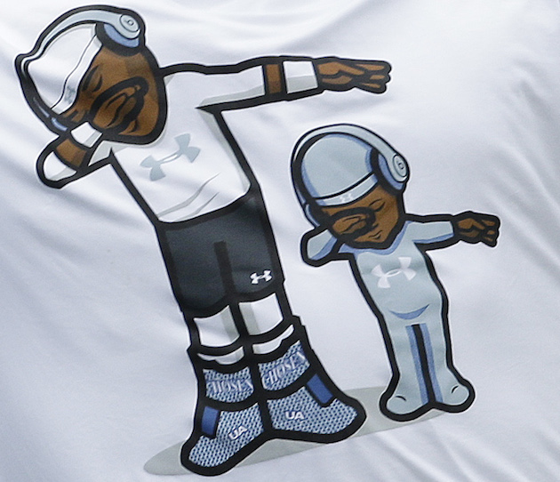 cam newton panthers son dab shirt under armor