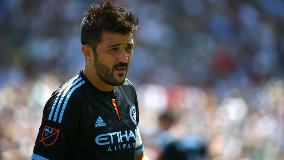 David Villa looks forward to his second season in MLS with NYCFC