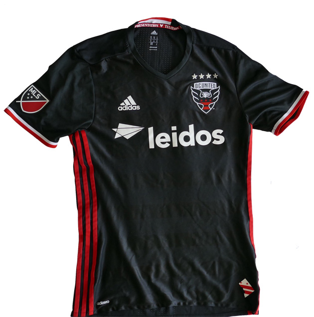 info for 5425a 52348 D.C. United's 2016 MLS jersey features city motto mistake ...