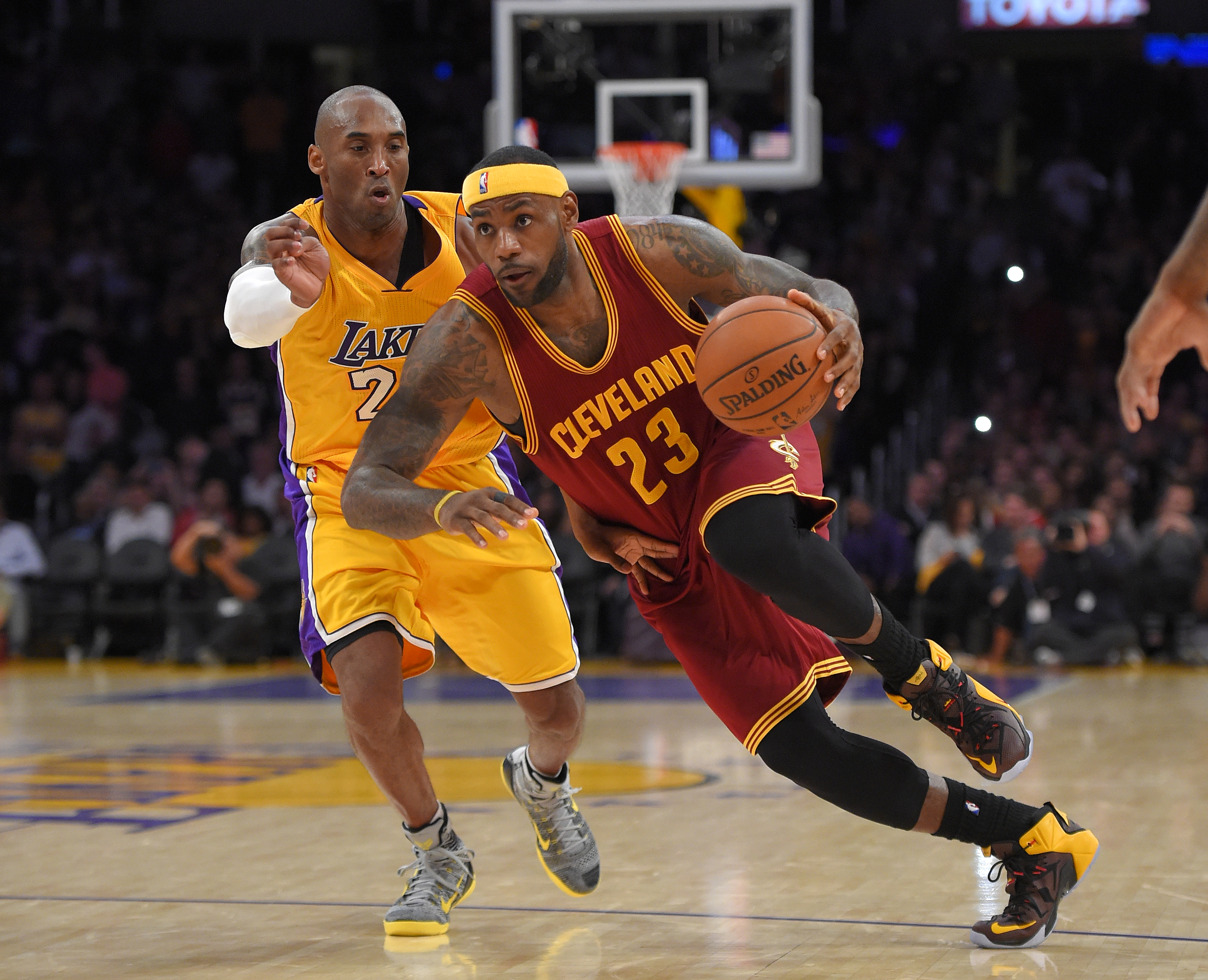 cac0a8ea2f2 Report  Lakers attempted Kobe Bryant for LeBron James trade in 2007 ...