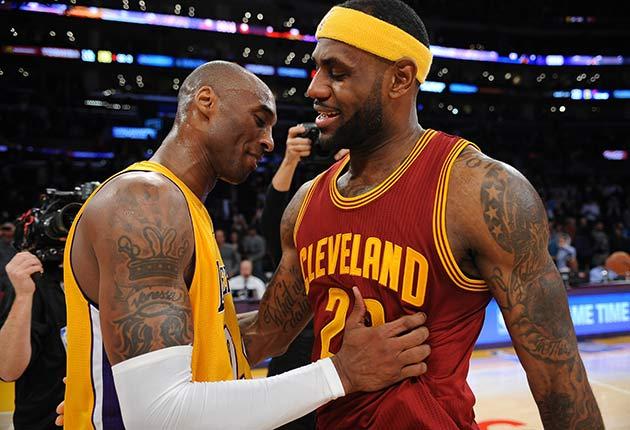 8f73597067f4 Kobe Bryant  LeBron James