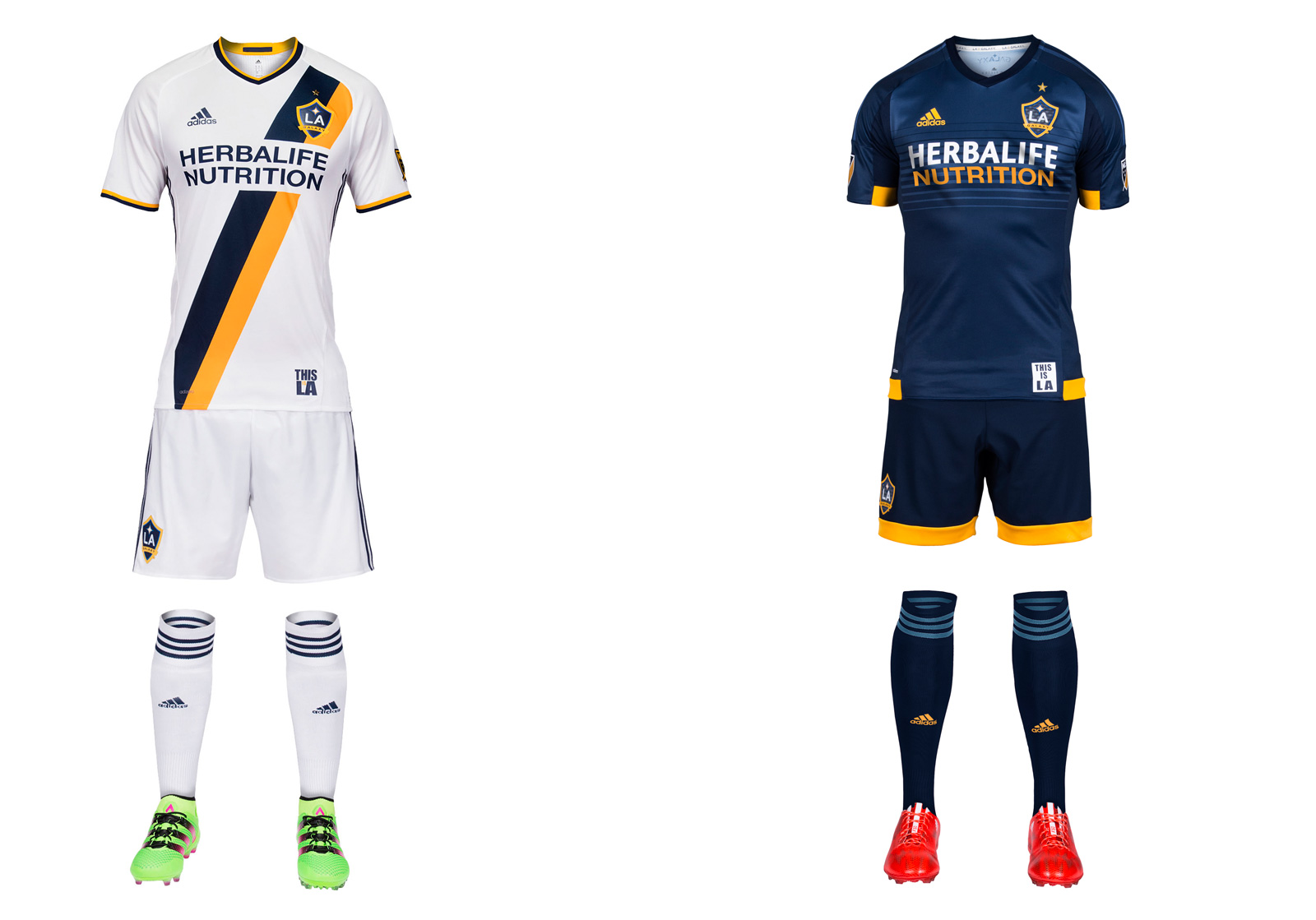 LA Galaxy's 2016 uniform