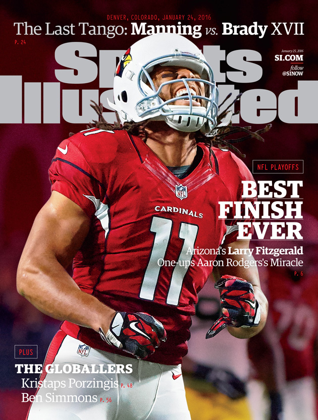 larry fitzgerald sports illustrated cover