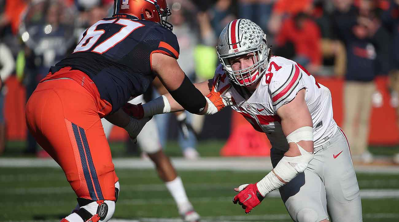 Pass rushers like Joey Bosa are highly recruited by agents due to their long-term earning potential in the NFL.