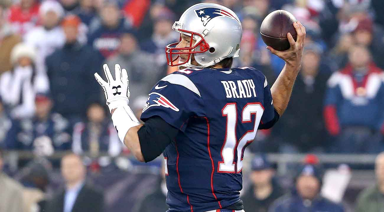 Tom Brady's career numbers reveal no stark contrast between home games and away.