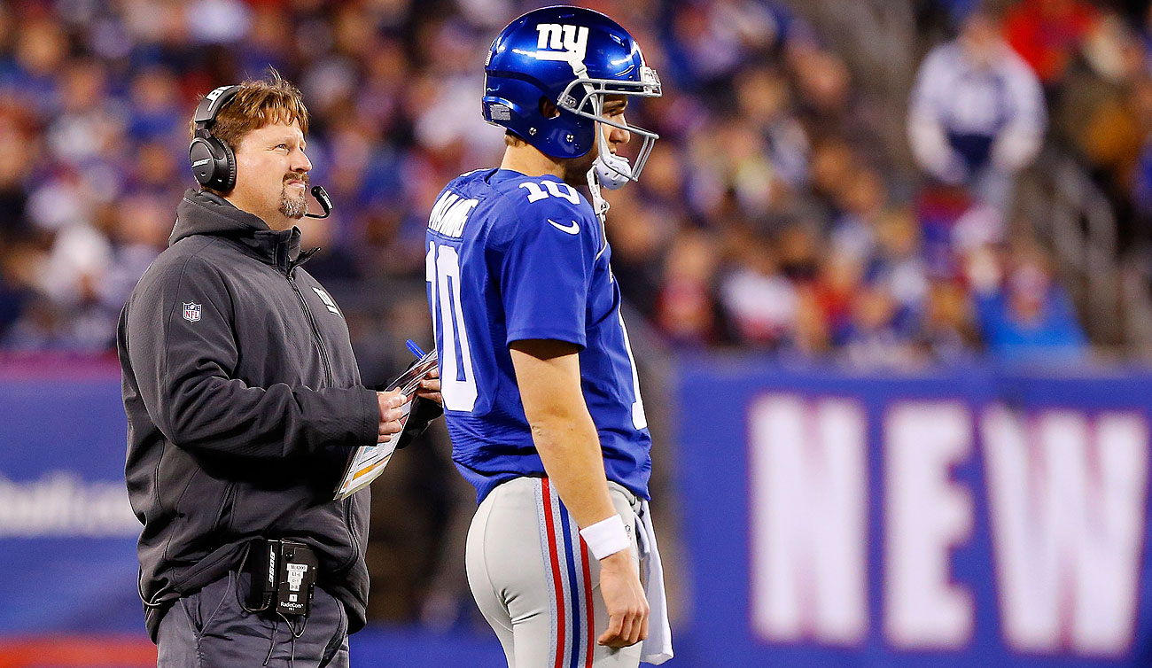 New Giants coach Ben McAdoo has worked closely with Eli Manning the past two seasons, serving as the team's offensive coordinator.