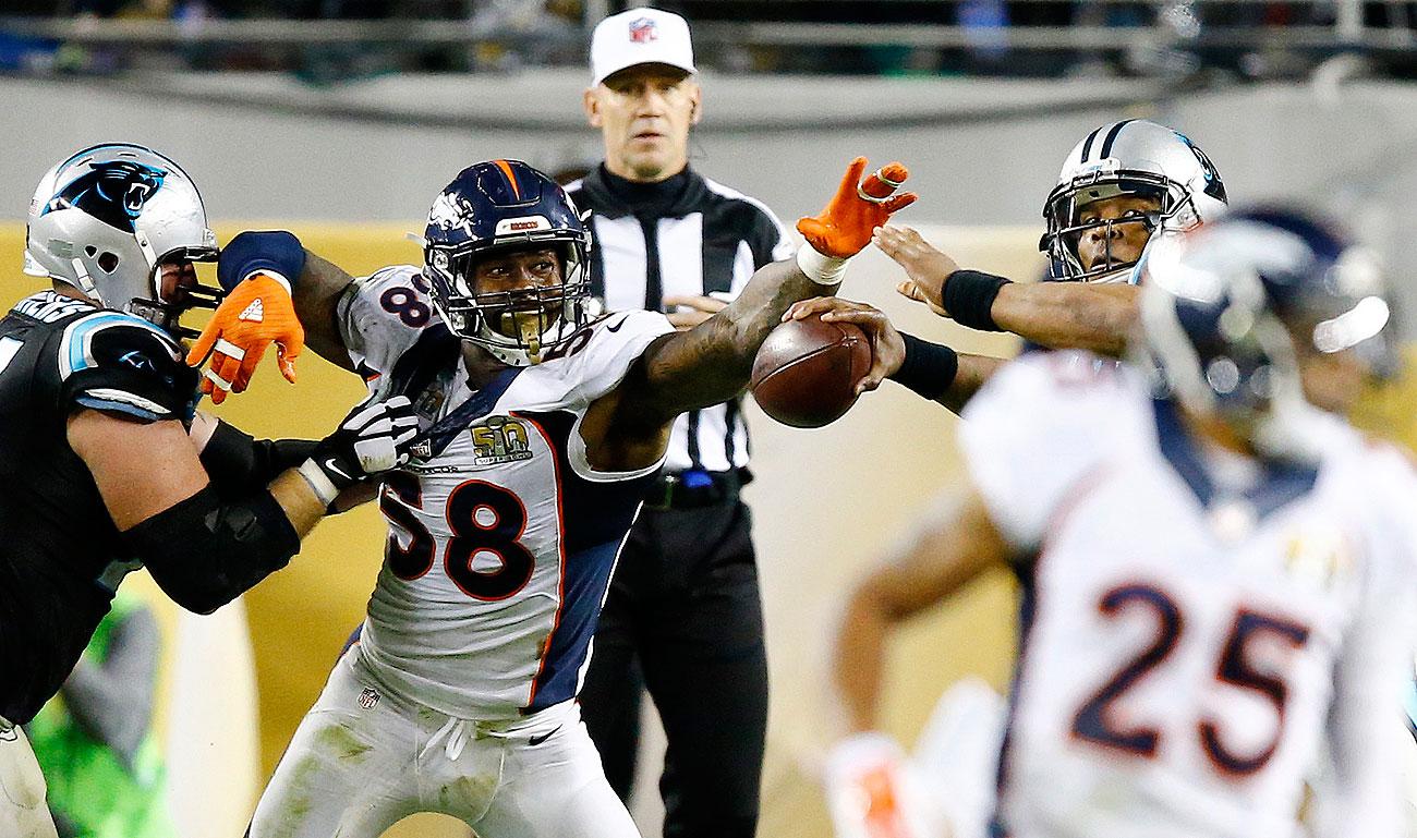 cad5bdd9 Peyton Manning, Denver Broncos beat Panthers in Super Bowl 50 | SI.com