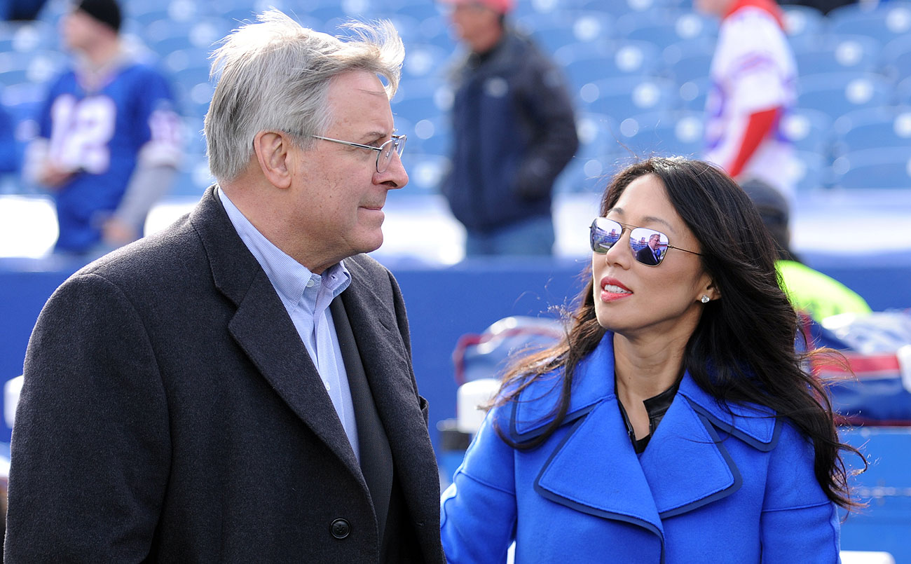 Kim Pegula, who co-owns the Bills with husband Terry, was one of several women in the room when the NFL voted to relocate the Rams.
