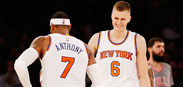 New York Knicks Kristaps Porzingis NBA midseason grades