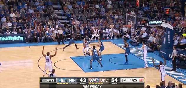 Oklahoma City Thunder Minnesota Timberwolves Russell Westbrook triple double