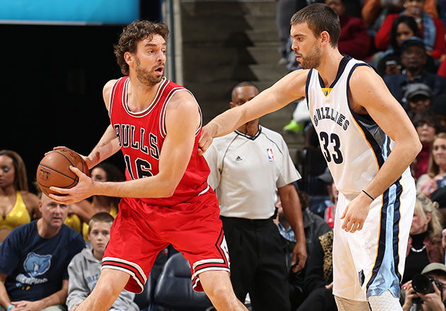 Pau and Marc Gasol